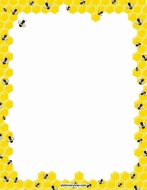 Free Bee Border Cliparts, Download Free Clip Art, Free Clip.