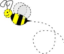 buzzing bee graphics.