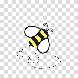 Buzzing Bee PNG clipart images free download.