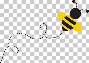 The Buzzing Bee Bumblebee , bee, animated bee illustration.