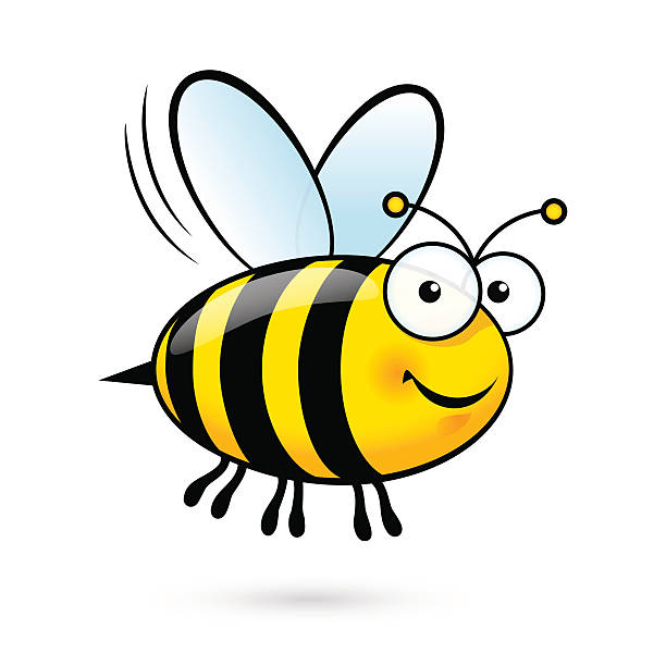 Best Bee Illustrations, Royalty.