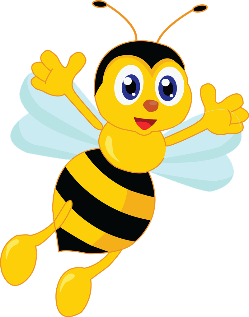 Free to Use & Public Domain Bee Clip Art.