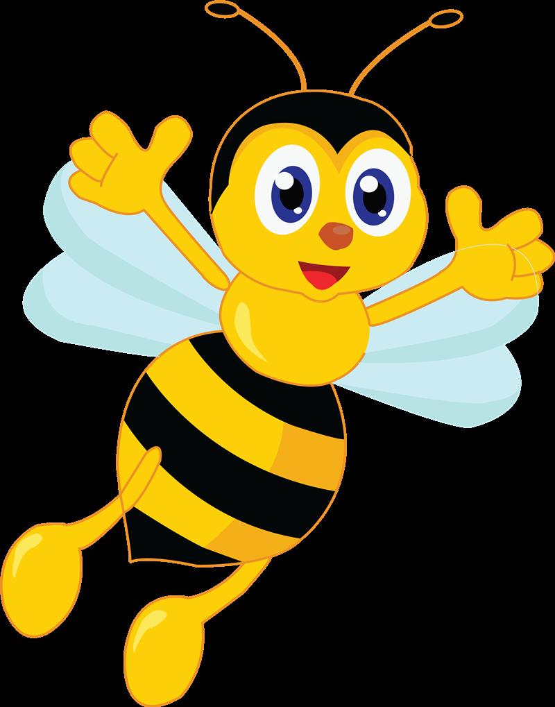 Free to Use & Public Domain Bee Clip Art.