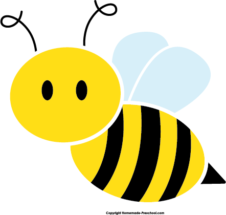 Free Bee Clipart.