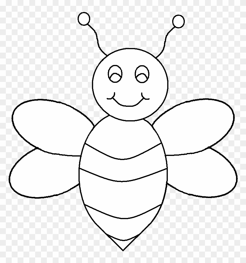 Bee Black And White Image Of Bee Clipart Black And.