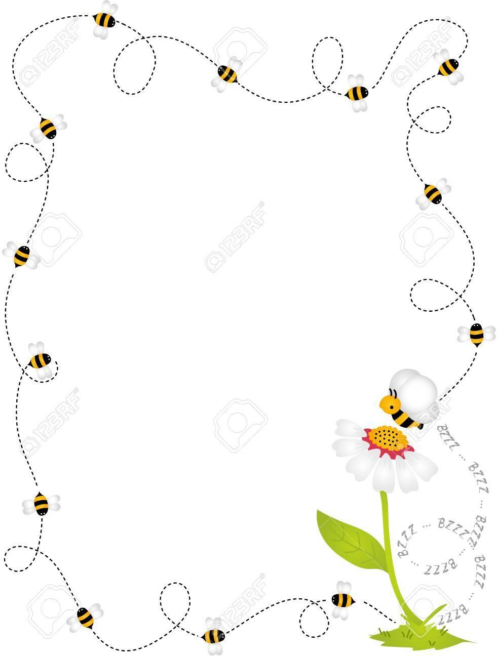 Bee Border Frame.