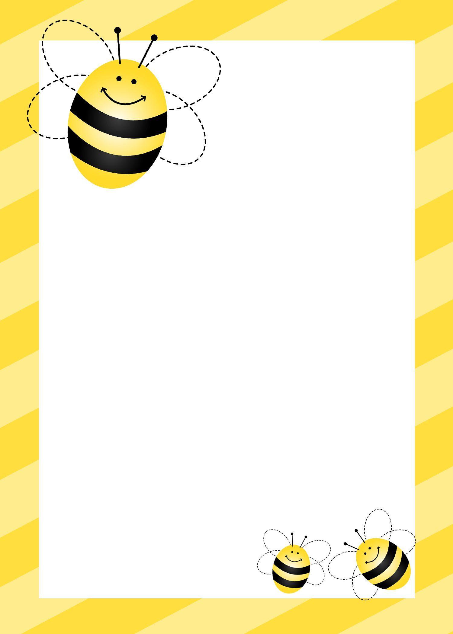 Bees clipart border 4 » Clipart Portal.