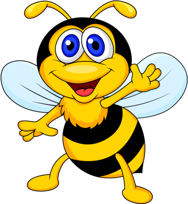 2 Bee Clipart, Bee Cards, Bee Pictures, Bee.
