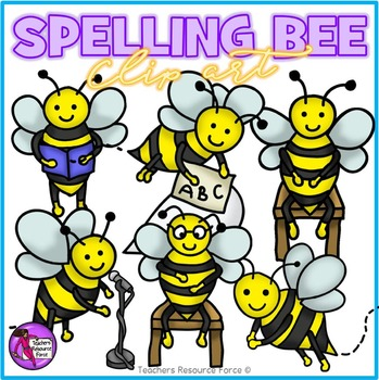Bee Clip Art & Worksheets.