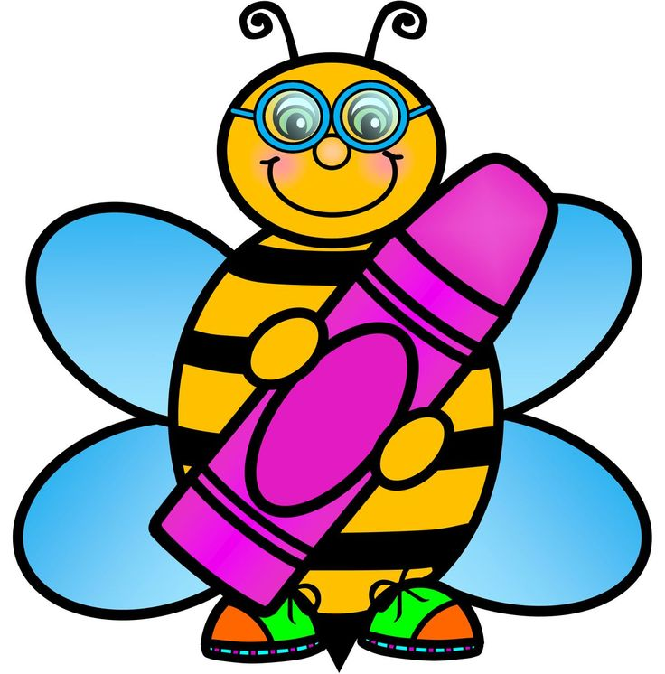 Bee clipart school.