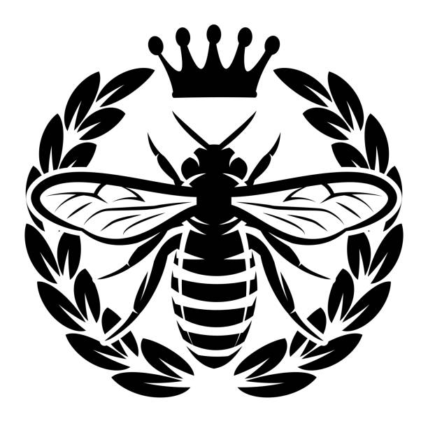 Best Queen Bee Illustrations, Royalty.