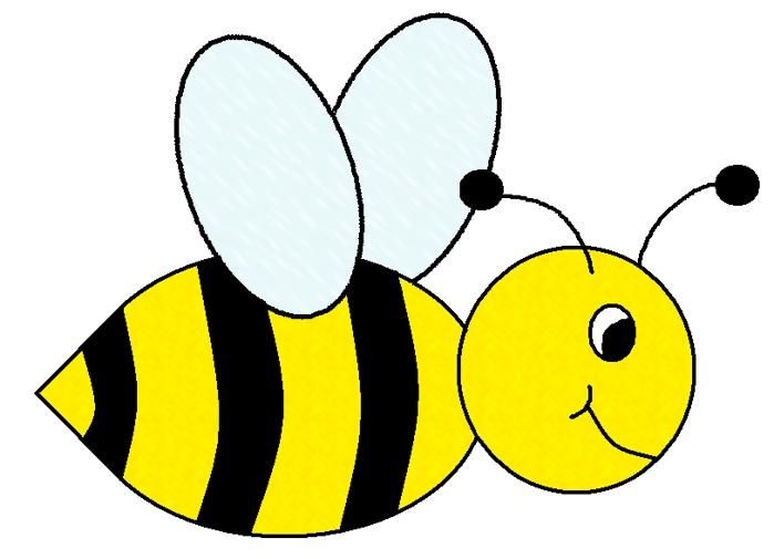 Cute bee clipart free clipart images clipartwiz.