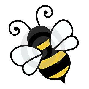 Free Cute Bee Clip Art.