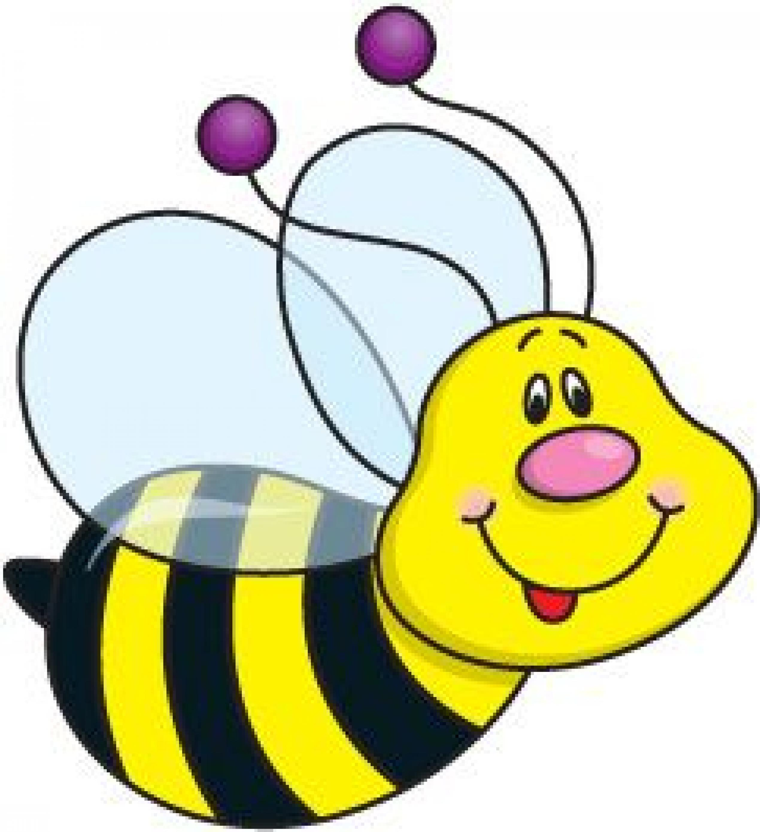 Bee clipart 4 free bee clip art drawings and colorful clipartwiz.