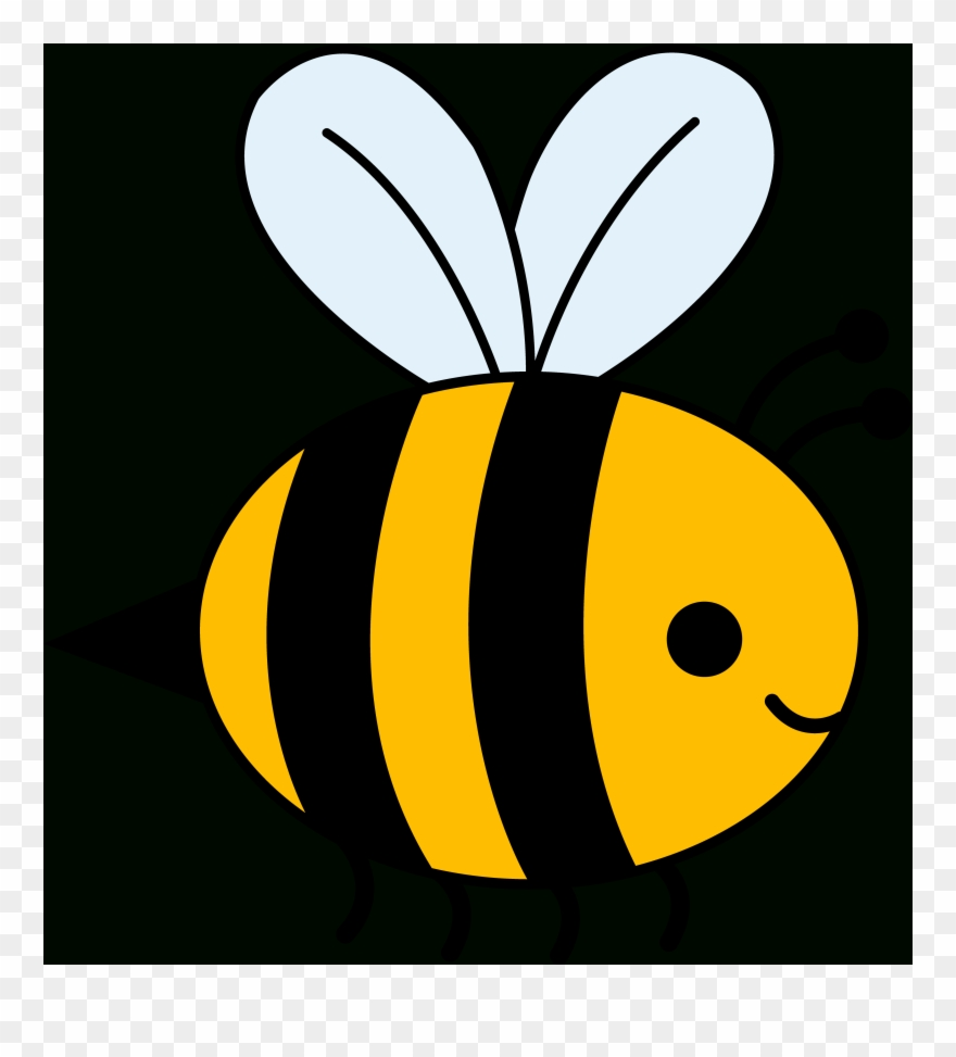 How To Draw A Cartoon Bee Clipart (#2236084).