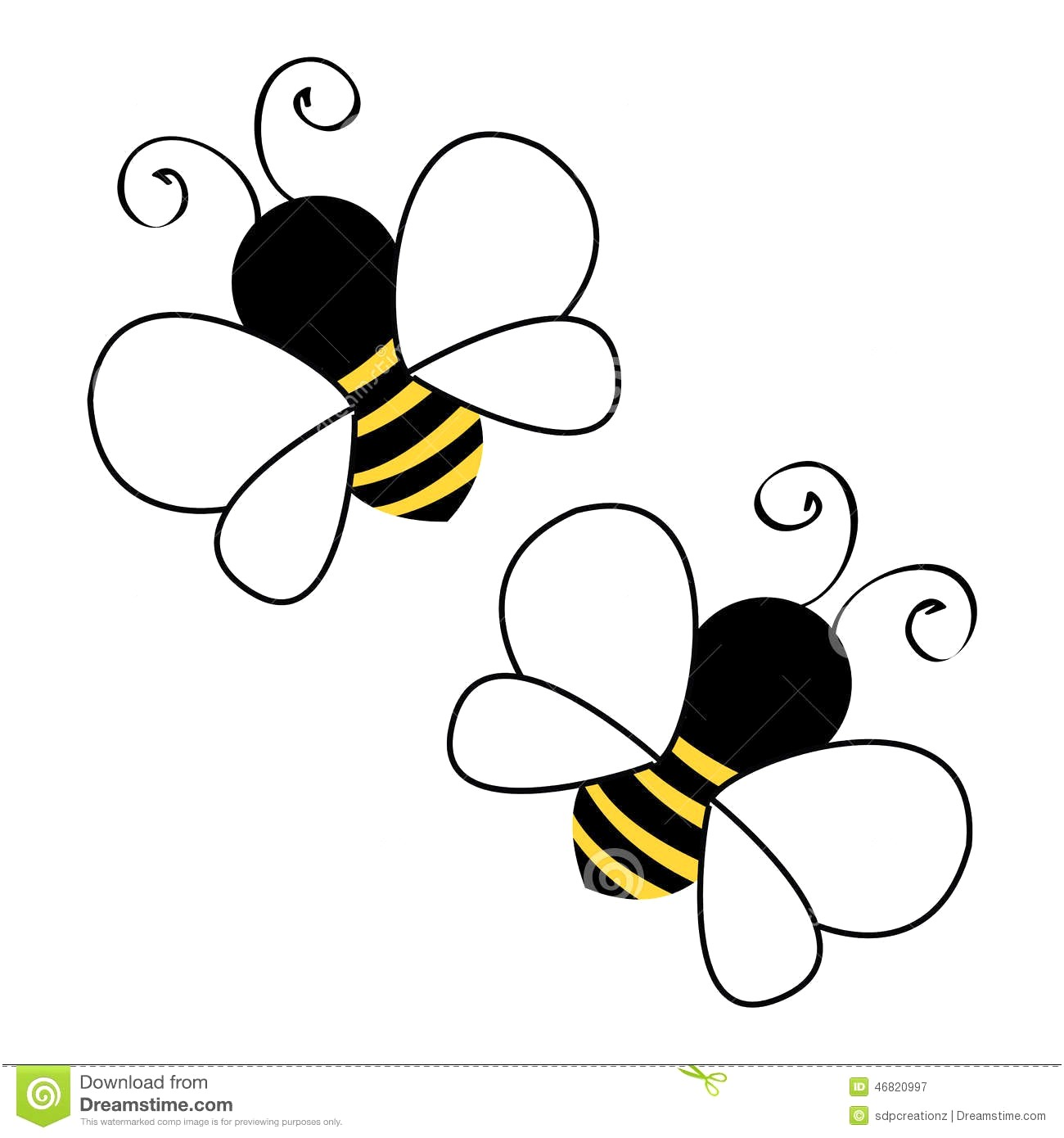 Bee flying clipart 4 » Clipart Station.