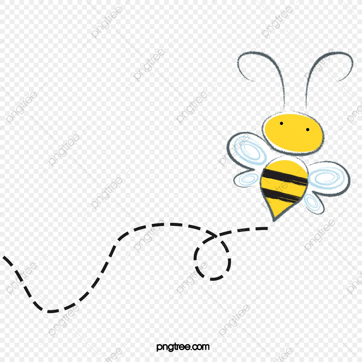 Flying Bee, Bee Clipart, Fly, Bee PNG Transparent Clipart Image and.