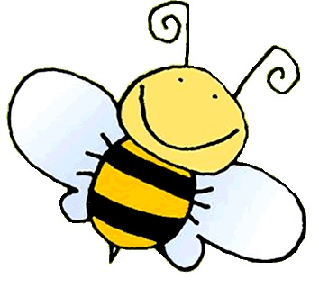 9278 Bee free clipart.