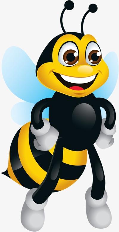 Bee Happy, Bee Clipart, Cartoon, Child P #97284.