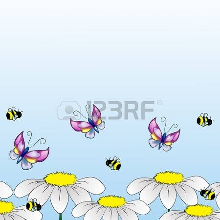 Bees And Herbs Cliparts, Stock Vector And Royalty Free Bees And.