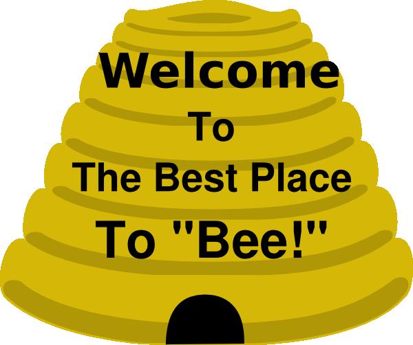 Beehive Clip Art at Clker.com.