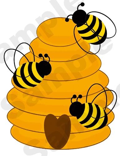 Animated Bee Hive.