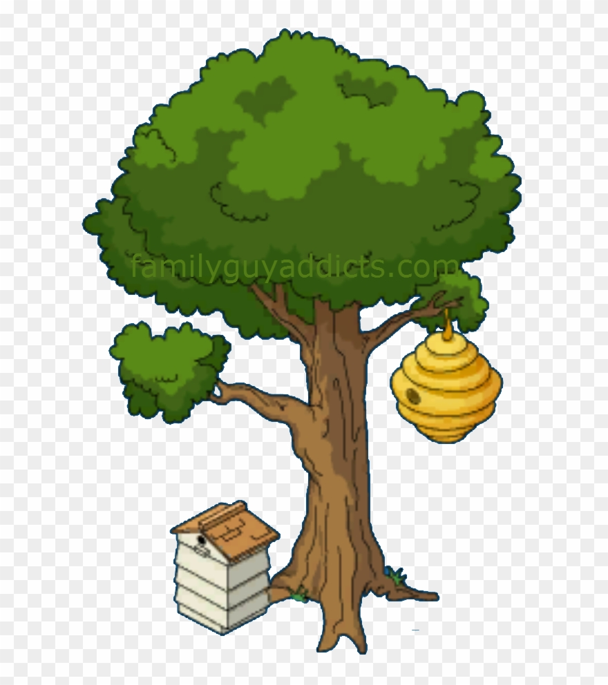 Beehive On A Tree Clipart Www Pixshark Com Images Bee.
