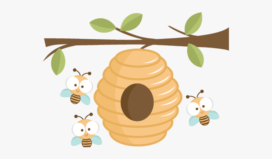 Bee Hive Clipart Transparent.