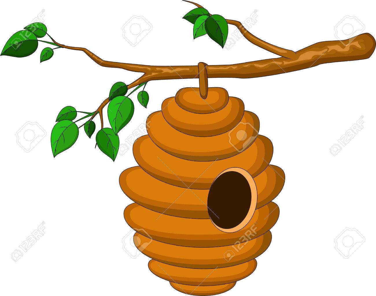 Bee Hive Clipart Free Download Clip Art.