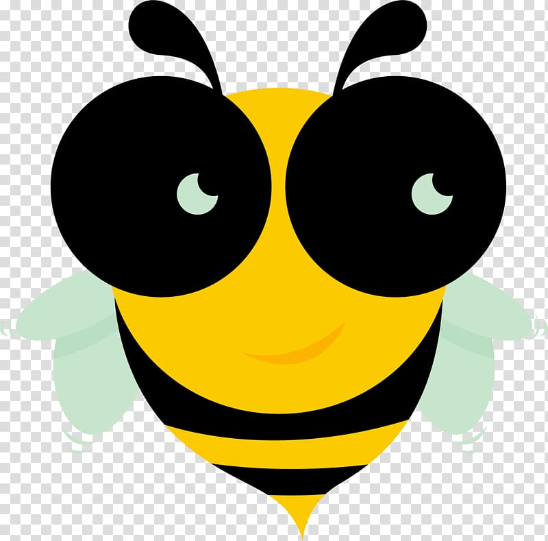 Apidae Apitoxin Honey bee Icon, Big eyes bee venom.