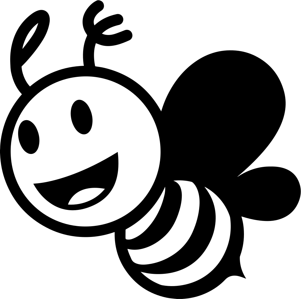 Bee Icon Png #219277.