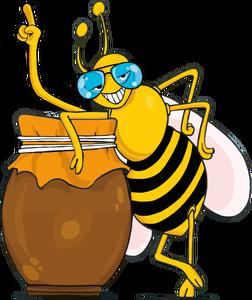 113 honey bee clip art free.