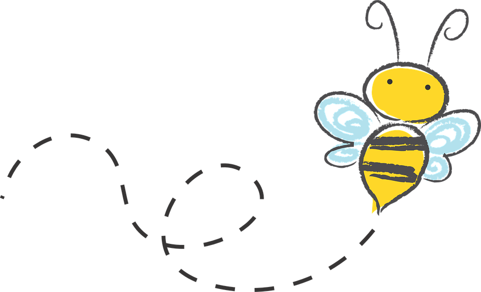 Free vector graphic: Bee, Cartoon, Bumble, Honey, Icon.
