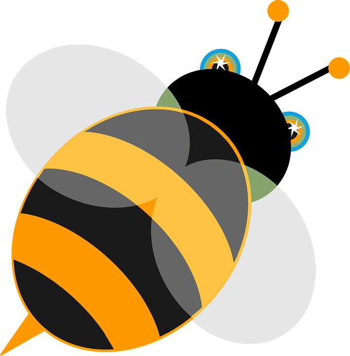 Free vector graphic: Bee, Insect, Animal, Wild, Nature.