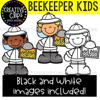 Beekeeper Clipart {Creative Clips Clipart}.