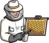 Clip Art Beekeeping.
