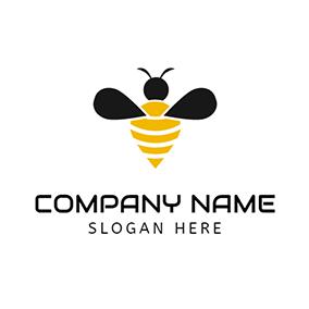 Free Bee Logo Designs.
