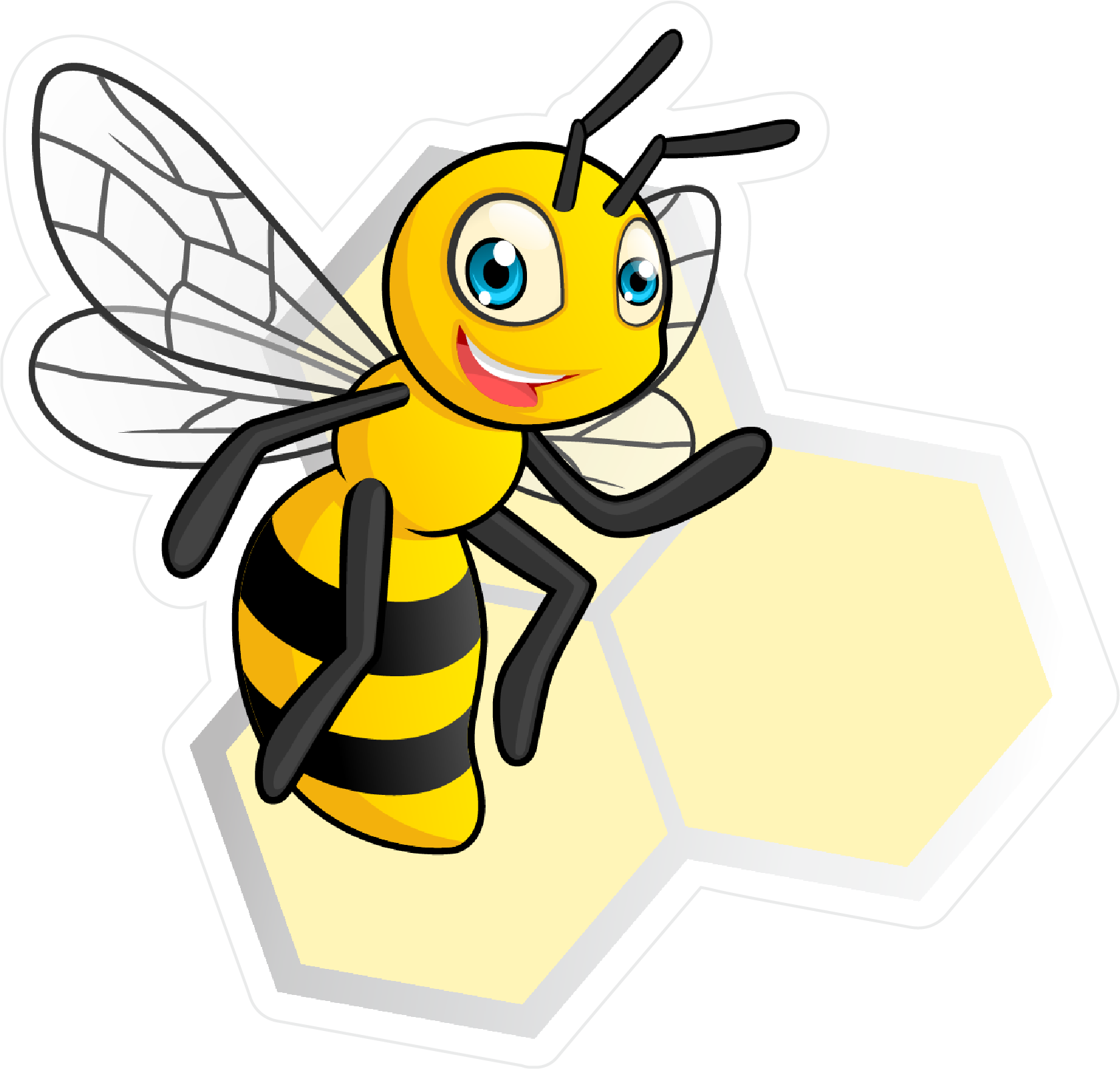 Bee Box Wraps Logo Decal.