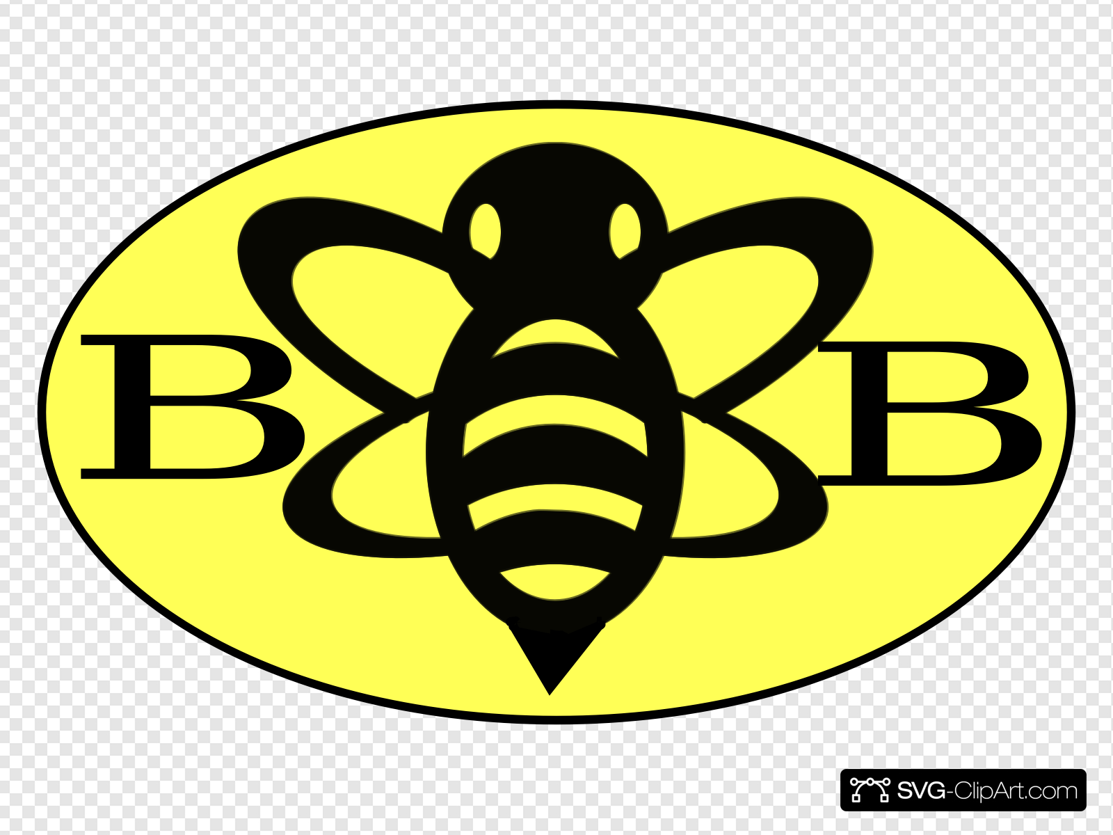 Bumble Bee Logo Clip art, Icon and SVG.
