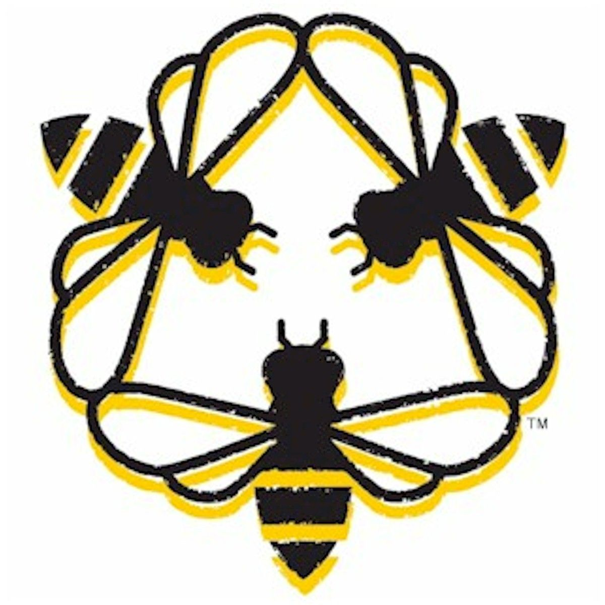 3 bees.