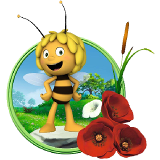 Maya The Bee Characters.