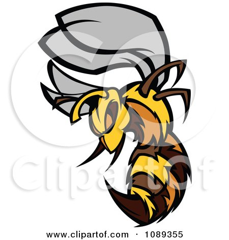 bee mascot clipart #14
