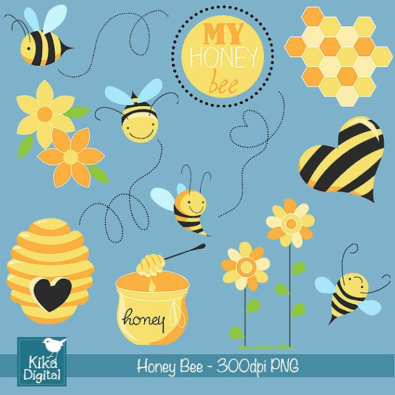 1000+ images about Clipart: Bears n Bees on Pinterest.