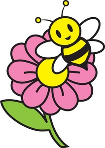 Bee Clipart Image.