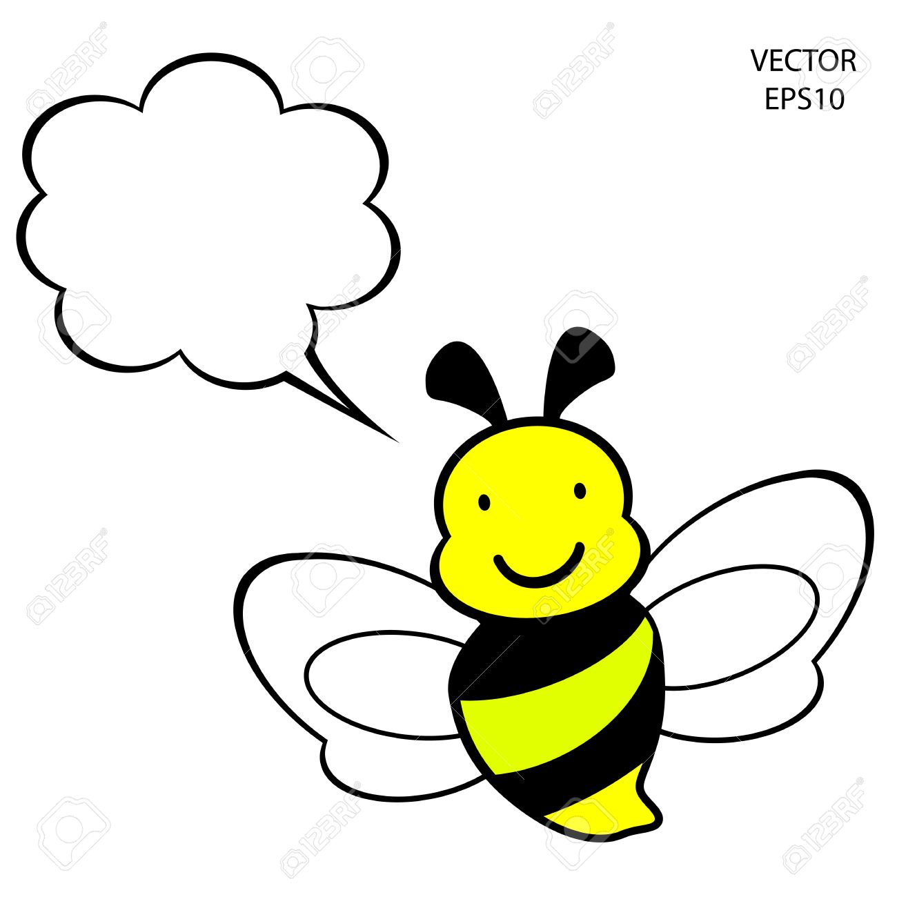 Bee Icon,bee Drawing,bee Outline,vector Royalty Free Cliparts.