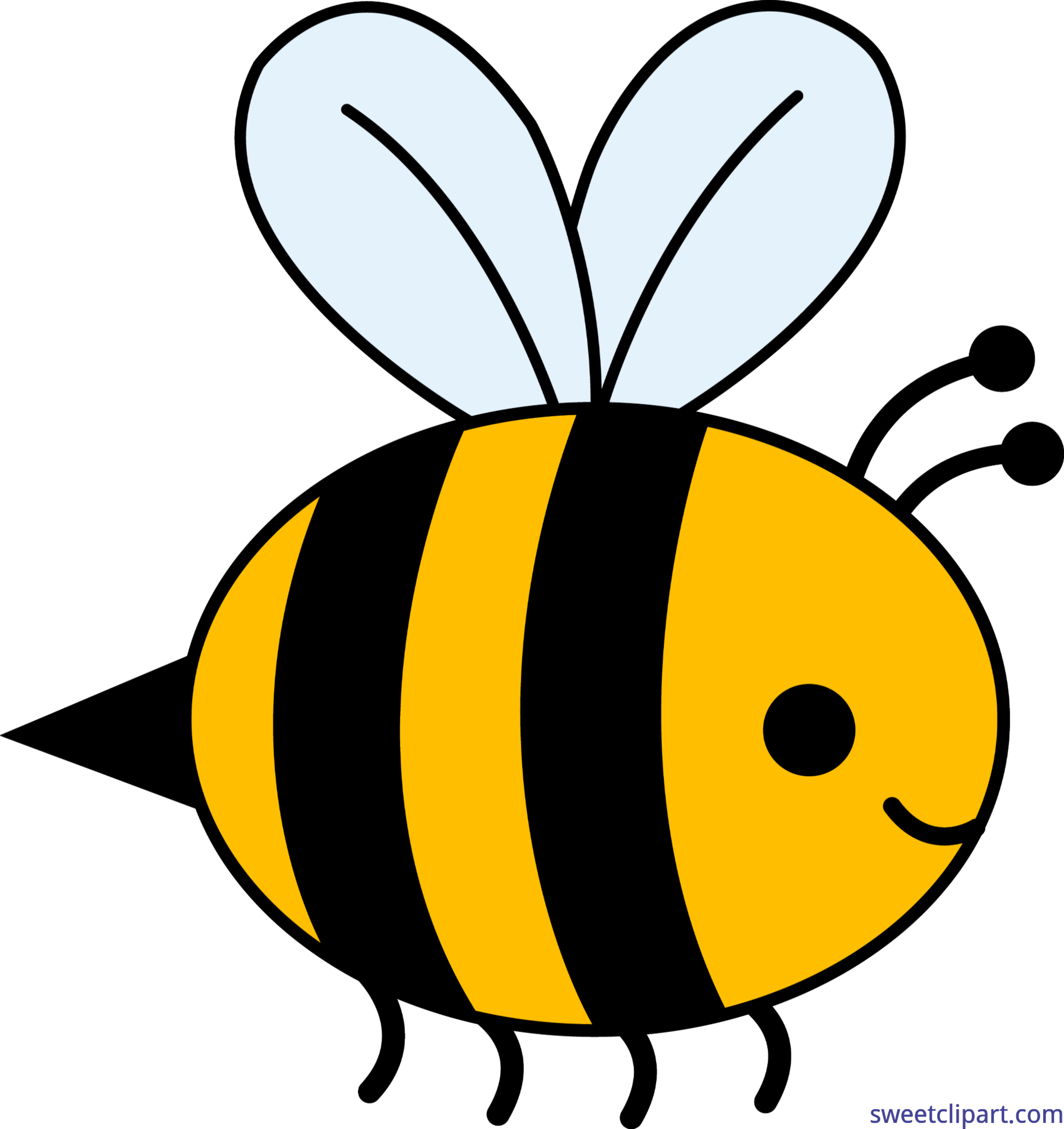 Bumble Bee Clip Art.