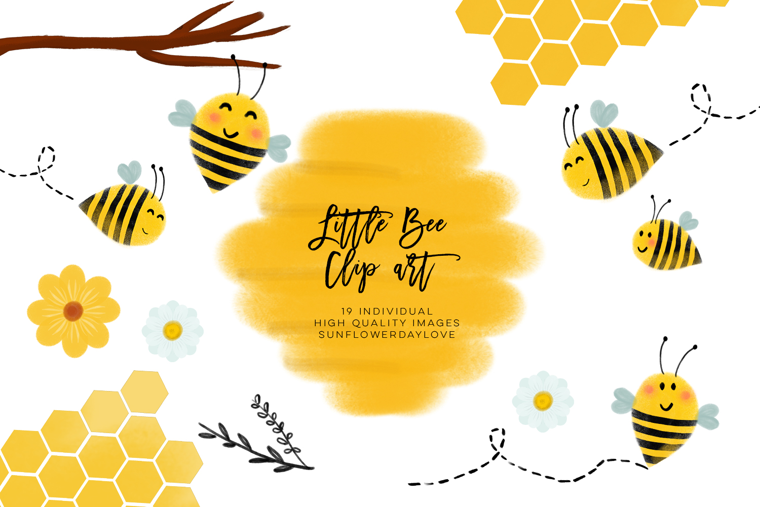 bee clip art, bees illustration, Honey bee clipart, Commercial use bee clip  art, honey, hive, bee scrapbook papers, Bee watercolor clipart.