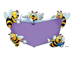 Bees clipart reading, Bees reading Transparent FREE for.