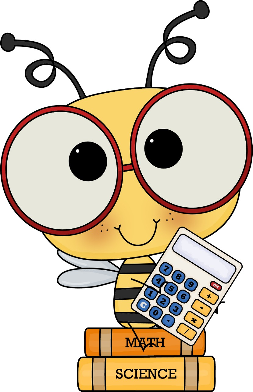Bee clipart math.
