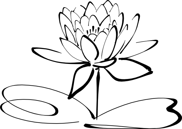Lotus Flower Clipart.